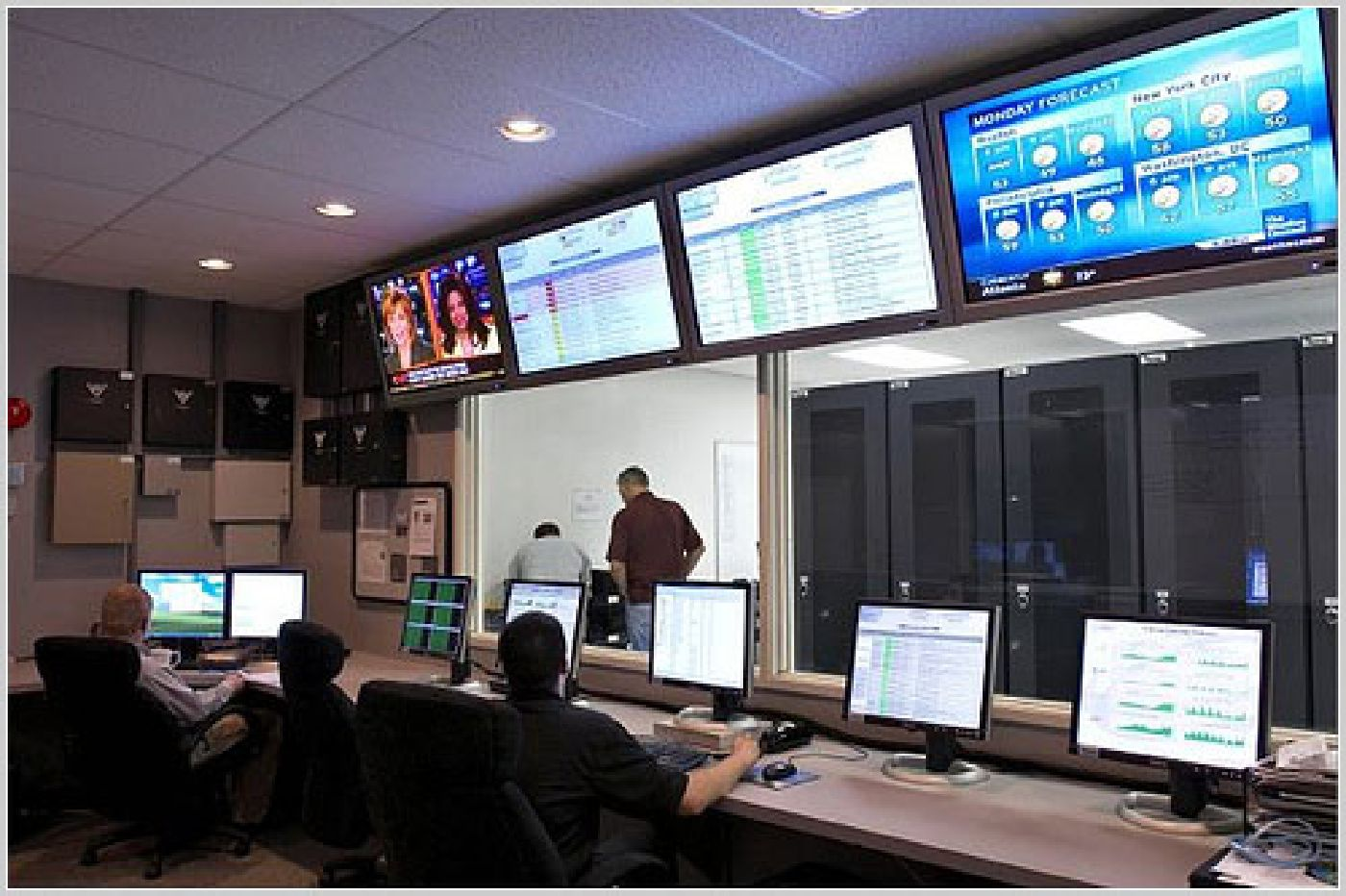 Network Operation Center.